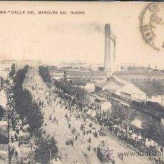Postales: BARCELONA.- CALLE DEL MARQUES DEL DUERO. Lote 26880585
