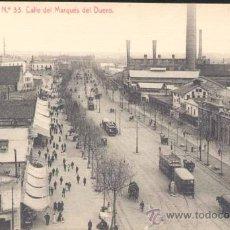 Postales: BARCELONA.- CALLE DEL MARQUES DEL DUERO. Lote 26880626