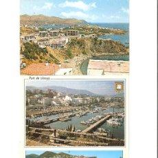 Postales: PORT DE LLANCA' , COSTA BRAVA , 3 POSTALES . Lote 27102813