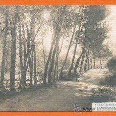 Postales: VALLVIDRERA - BARCELONA - CARRETERA DE LA CASA MIRALLES - Nº 20 ANDRÉ FABERT CIRCULADA EN 1912. Lote 27164582