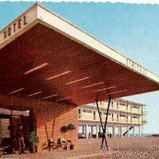 Postales: GRAN HOTEL CARLOS III. ALCANAR PLAYA. EDICIONES FOTOCOLOR VALMAR.. Lote 27221770