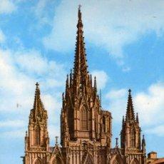 Postales: BARCELONA 2013 LA CATEDRAL ESCRITA CIRCULADA SELLOS ZERKOWITZ . Lote 27222637