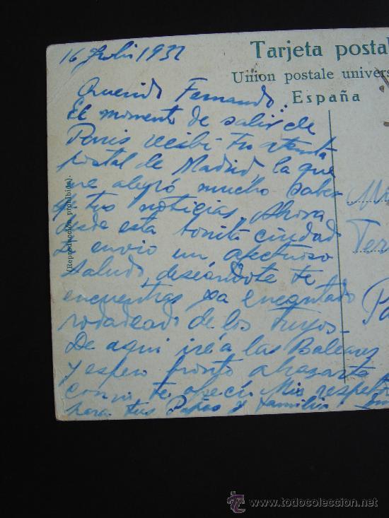 Postales: PARTE IZQUIERDA DEL TEXTO - Foto 3 - 27240138