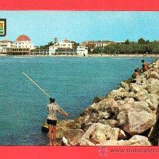 Postales: DOS BONITAS POSTALES DE SALOU ( TARRAGONA ) SIN CIRCULAR UNA ESCRITA . Lote 27512457