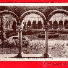Postales: POSTAL DE RIPOLL MONASTERIO CLAUSTRO EDICION L, ROISIN Y MAIDEU SIN CIRCULA . Lote 27625751