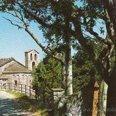 Postales: MONTSERRAT, SANTA CECILIA, CAPILLA ROMANICA. Lote 27626932