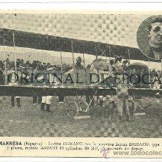 Postales: (PS-22996)POSTAL DE MANRESA-MITING AEREO AVIADOR LUCIEN DEMAZEL. Lote 27663760