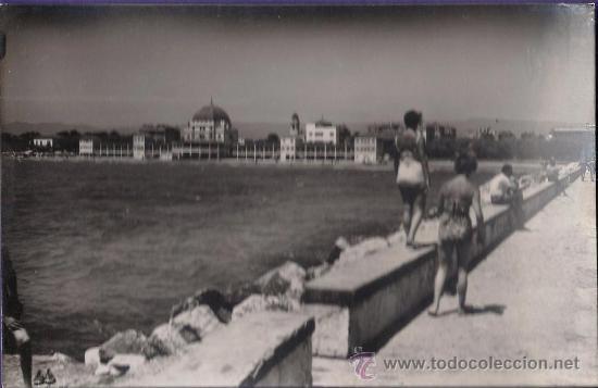 SALOU - PLAYA - HOTEL BALNEARIO LA TERRAZA - Nº 104 - ED.CHINCHILLA - SIN CIRCULAR - AÑOS 50 (Postales - España - Cataluña Moderna (desde 1940))