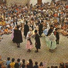 Postales: CASTELLTERÇOL (BARCELONA) BALL DEL CIRI. Lote 27698415