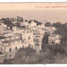 Postales: CALDETAS - VISTA GENERAL - A.T.V.- 3142 - (6617). Lote 27724668