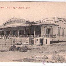 Postales: CALDETAS - BALNEARIO COLON - A.T.V.- 3914 - (6621). Lote 27724785