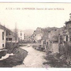 Postales: CAMPRODON - DARRERES DEL CARRER DE VALENCIA - A.T.V.- 1319 - (6643). Lote 27725740