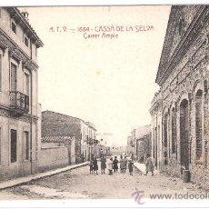 Postales: CASSA DE LA SELVA - CARRER AMPLE - A.T.V.- 1684 - (6647). Lote 27732372