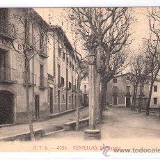 Postales: CENTELLAS - EL PASSEIG - A.T.V.- 4334 - (6651). Lote 27732418