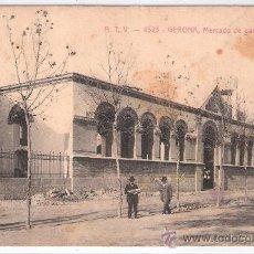 Postales: GERONA - MERCADO DE GANADO - A.T.V.- 4323 - (6708). Lote 27733542