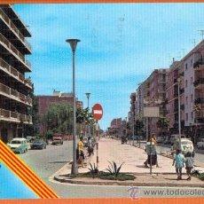 Postales: EL PRAT DE LLOBREGAT - AVENIDA VIRGEN DE MONTSERRAT - Nº 105 POSTALES BADALONA. Lote 27737802