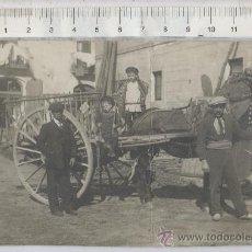 Postales: TARJETA POSTAL FOTO REAL DE CARRETA Nº 31 DE MOLLET BARCELONA CARRO BURRO TIPICO COSTUMBRISTA . Lote 27800105
