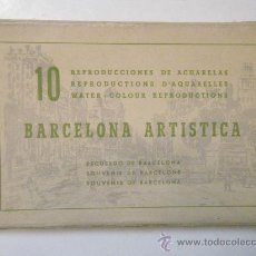 Postales: BARCELONA ARTISTICA - ED. REGUERA.. Lote 27819942