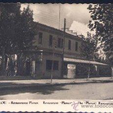 Postales: SALOU (TARRAGONA).- RESTAURANTE PLANAS. Lote 27815506