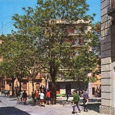 Postales: FIGUERES -PLAZA ANSELM CLAVÉ- POSTAL AÑO 1966 VER. Lote 27823847