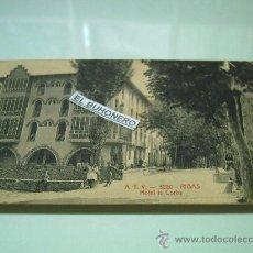 Postales: A.T.V. 3220,-RIBAS - HOTEL LA CORBA - ED. ANGEL TOLDRÁ VIAZO. Lote 27887419