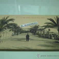 Postales: A.T.V. -368 -SITGES - PASEO DEL DOCTOR ROBERT- ED. ANGEL TOLDRA VIAZO. Lote 27887596
