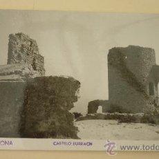 Postales: ARGENTONA. CASTILLO BURRIACH. FOTO: A. GÜELL. CIRCULADA. AÑOS 1950S. Lote 27930508