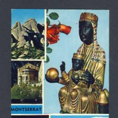 Cartoline: POSTAL DE MONTSERRAT: MARE DE DÉU I 4 VISTES (ZERKOWITZ NUM.2219). Lote 28024704