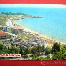 Postales: TARRAGONA - ANFITEATRO ROMANO Y PLAYA. Lote 28103365