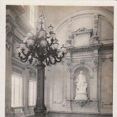 Postales: EXPOSICIÓN INTERNACIONAL DE BARCELONA 1929, PALACIO NACIONAL, ESCALERA DE HONOR, CONCESIONES GRAFICA. Lote 28114848