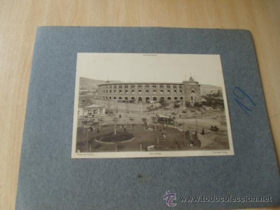 BARCELONA. PLAZA DE TOROS LAS ARENAS. ACTUALMENTE, CENTRO COMERCIAL. FOTO POSTAL. (Postales - España - Cataluña Antigua (hasta 1939))