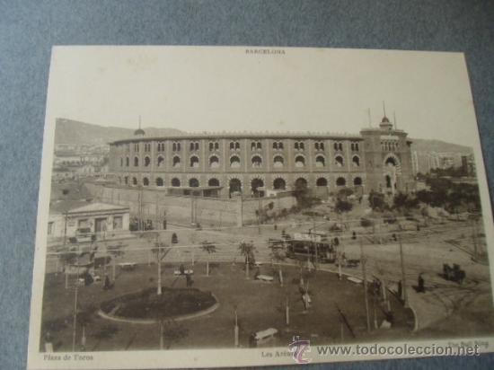 Postales: BARCELONA. PLAZA DE TOROS LAS ARENAS. ACTUALMENTE, CENTRO COMERCIAL. FOTO POSTAL. - Foto 2 - 28167432