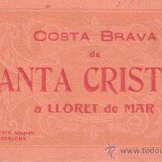 Postais: LLORET - SANTA CRISTINA - BLOCK COMPLETO DE 20 POSTALES - VER FOTOS. Lote 28173729