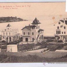 Postales: SAN FELIU DE GUIXOLS - 18 - TORRES DE SAN POL - (7433). Lote 28246456