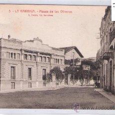 Postales: LA GARRIGA - 3 - PLASSA DE LAS OLIVERAS - ROISIN - (7544). Lote 28278829