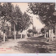 Postales: LA GARRIGA - 4 - PASSEIG - ROISIN - (7545). Lote 28278844