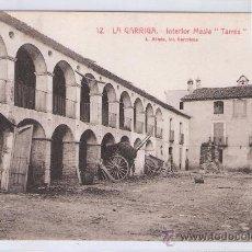 Postales: LA GARRIGA - 12 - INTERIOR MASIA TARRES - ROISIN - (7553). Lote 28278939