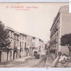 Postales: LA GARRIGA - 21 - CARRER BANYS - ROISIN - (7562). Lote 28279086