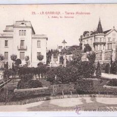 Postales: LA GARRIGA - 23 - TORRES MODERNAS - ROISIN - (7565). Lote 28279124