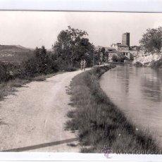 Postales: ARTESA DE SEGRE - CANAL DE URGEL A SU PASO POR VILVES- FOT. CALAFELL- ED. LEON BAELLA - (7590). Lote 28279607