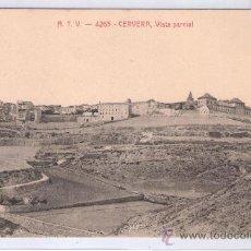 Postales: CERVERA - ATV- 4263 - VISTA PARCIAL - (7722). Lote 28298046