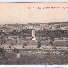 Postales: CALDAS DE MALAVELLA - ATV- 1522 - VISTA GENERAL - (7738). Lote 28298344