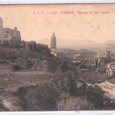 Postales: GERONA - ATV- 4321 - AFUERAS DE SAN DANIEL - (7766). Lote 28338996