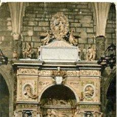 Postales: 7-ESP818. POSTAL LERIDA. BELLPUIG. MAUSOLEO DE RAMIRO III. FOLCH DE CARDONA. Lote 28336131