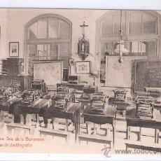 Postales: BARCELONA- COLEGIO DE NTRA. SRA. DE LA BONANOVA- 24 CLASE DE DACTILOGAFIA- (7854). Lote 28353055