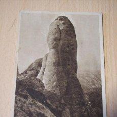 Postales: MONTSERRAT (EL CAVALL BERNAT (FOTO JUNQUÉ, O.S.B.). Lote 28527564
