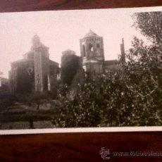 Postales: POSTAL ANTIGUA MONASTERIO DE POBLET-TARRAGONA- SIN CIRCULAR. Lote 28431384