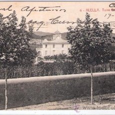 Postales: ALELLA - 6 - TORRE CUMELLAS- CIRCULADA- THOMAS - (7966). Lote 28492528
