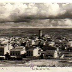 Postales: TARREGA 1 - VISTA GENERAL-FOTO CALAFELL - ESCRITA NO CIRCULADA 03/12/1953. Lote 28539789