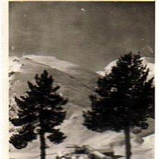 Postales: NURIA - EL SANTUARIO DESDE EL BOSQUE DE LA VIRGEN - ESCRITA,CON SELLO 2/0/1948. Lote 28539989